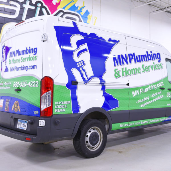 Vehicle Graphics_MN Plumbing