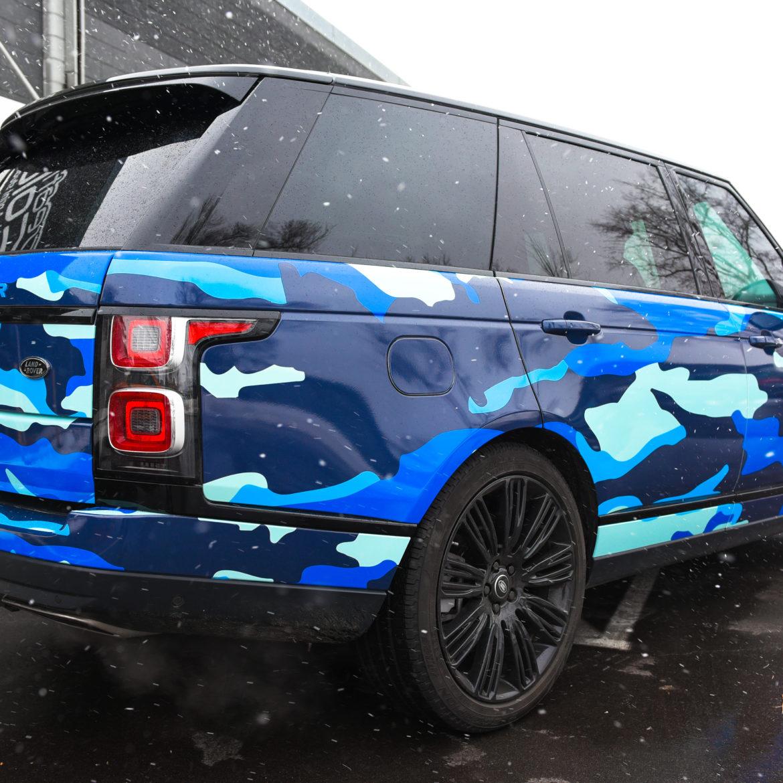 Customer Vehicle Wrap_Rover Camo