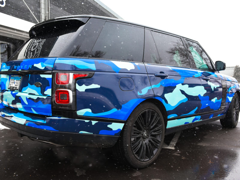 Customer Vehicle Wrap_Rover Camo