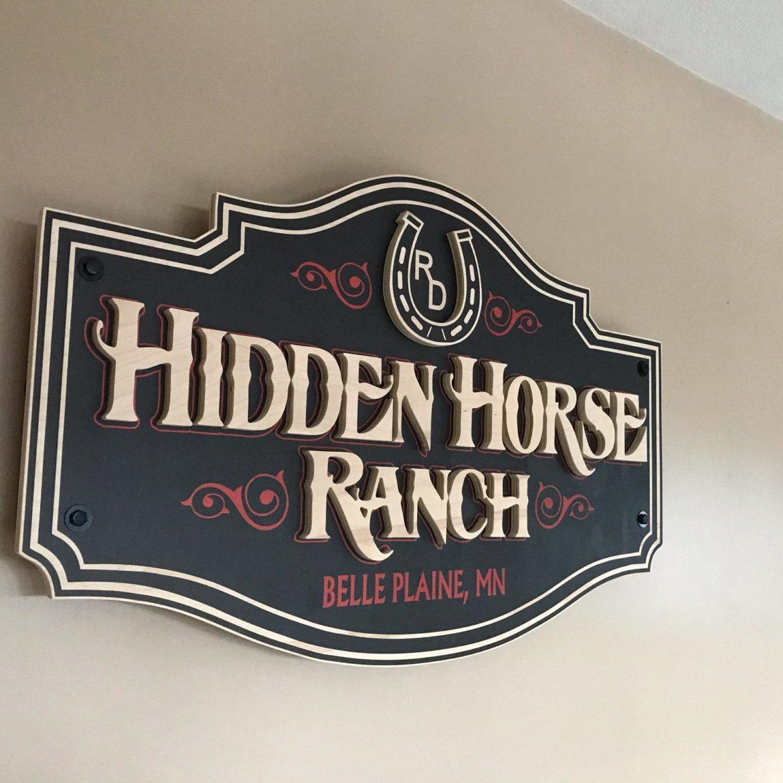Interior Signs_Hidden Horse Ranch