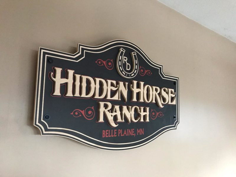 Interior Signs_Hidden Horse Ranch