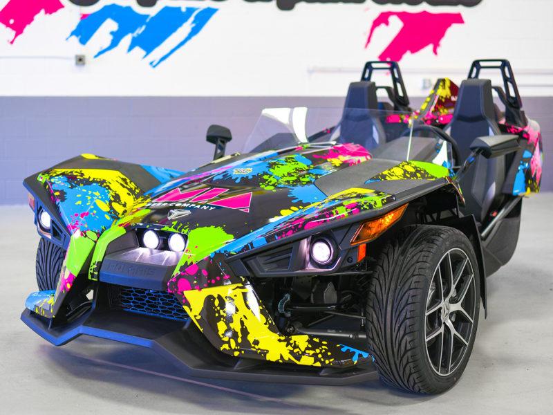 Customer Vehicle Wrap_SlingShot Color Wrap