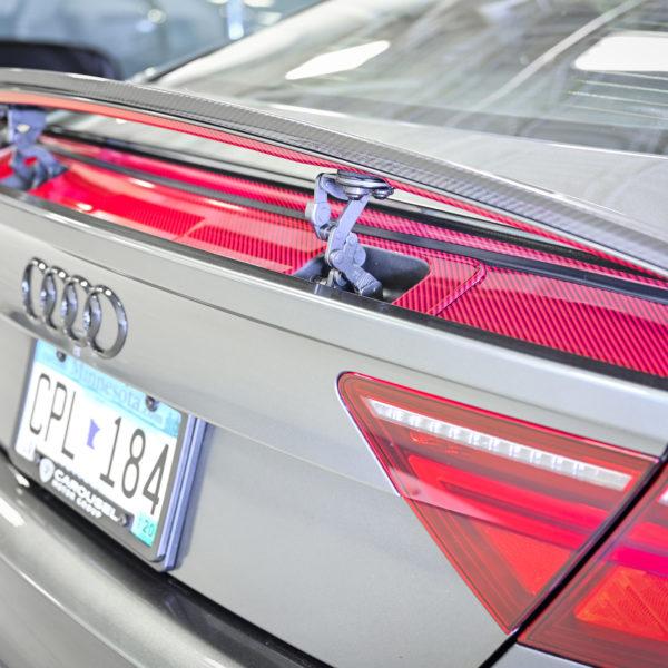 Custom Vehicle Wrap_Spoiler Accent