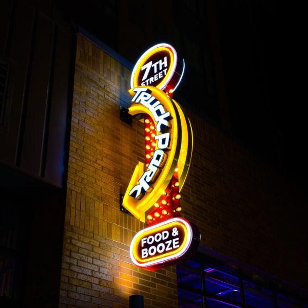 Illuminated Signs_Truck Park