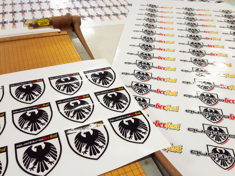 Decals & Labels - quattroberFest