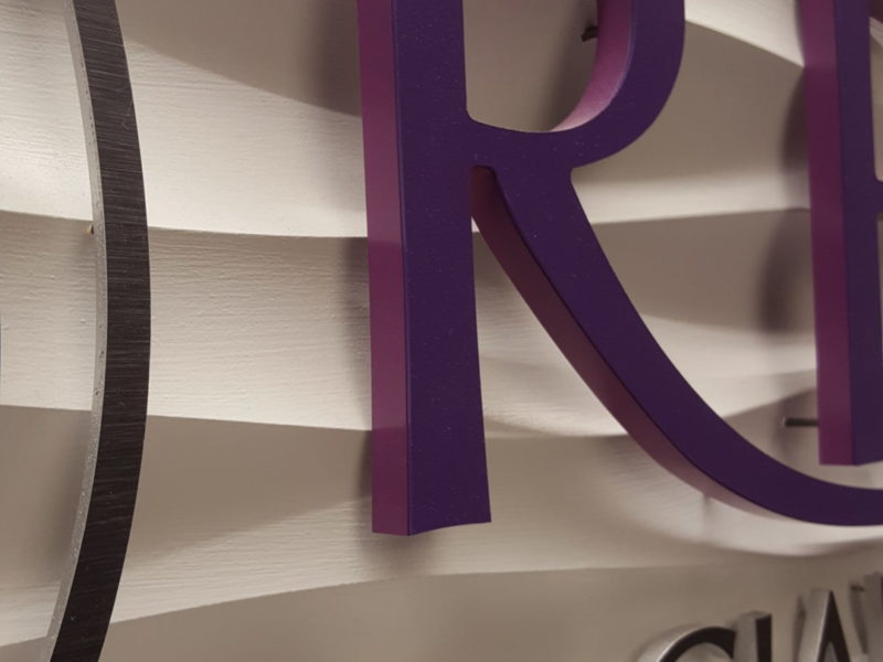 Lobby | Reception Signs - Dimensional Letterset