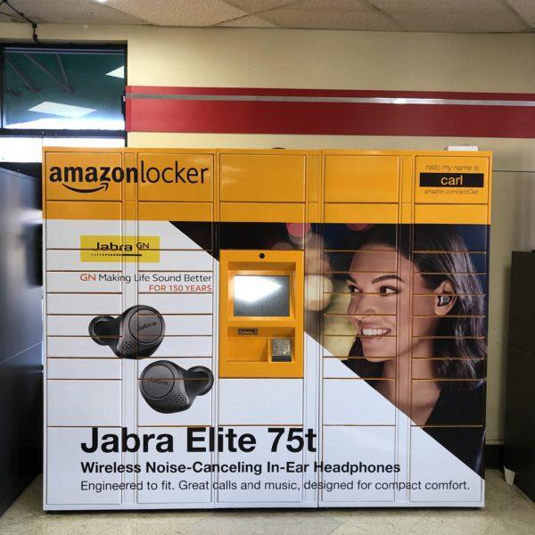 Amazon Locker Campaign - Carl